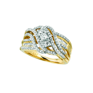 Women's Diamond Cluster Bridal Ring at Sears.com