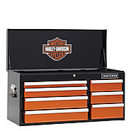 Craftsman Harley-Davidson® 40 In. 7-Drawer Top Chest at Sears.com