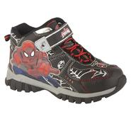 Character Boy's Hiker Boot Big Spidey - Black at Sears.com