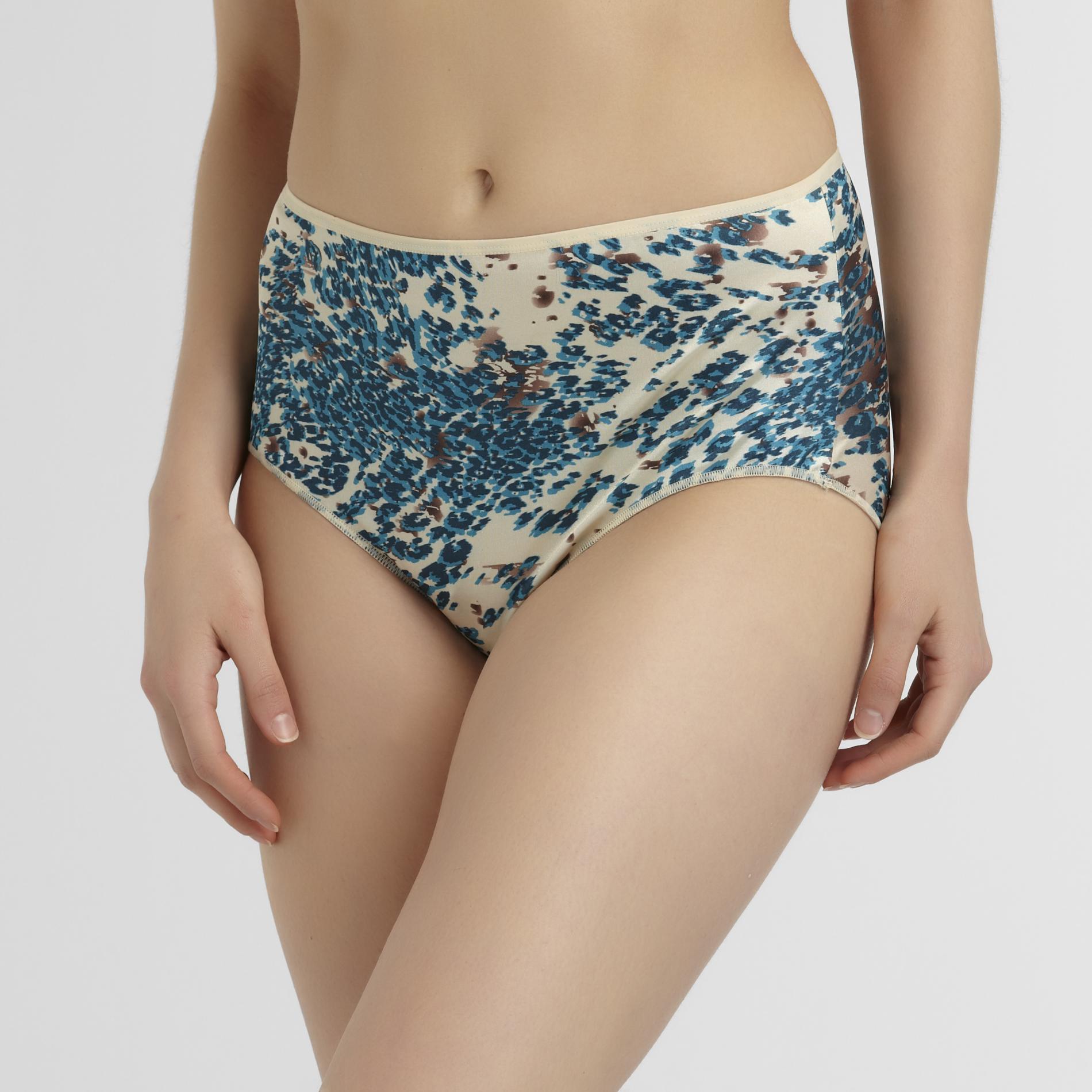 Hanes Women's Satin Stretch Brief Panties - 3-Pack