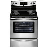 "Kenmore 30"" Freestanding Electric Range w/ Convection - Stainless Steel at Sears.com"