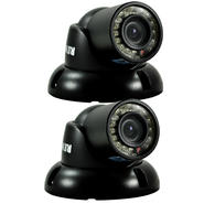 Revo 700 TVL Indoor/Outdoor Mini Turret Surveillance Camera with 100 ft. Night Vision (2-Pack) at Kmart.com