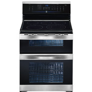 Kenmore Elite 6.64 cu. ft. Double-Oven Electric Range w/ Convection - Stainless Steel at Sears.com