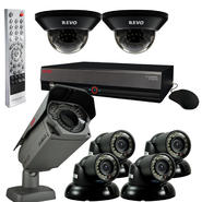 Revo Elite Surveillance System with 16 Channel 4TB DVR, 6 Quick Connect Cameras and 1 Elite Camera at Sears.com
