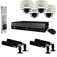 Revo Elite Surveillance System with 16 Channel 4TB DVR, 4 Covert Lipstick Cameras and 4 Mni Dome Cameras at Kmart.com