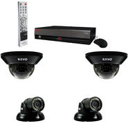 Revo 4 Ch. 500GB DVR Surveillance System with 4 700TVL 100 ft. Night Vision Cameras at Kmart.com