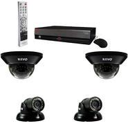 Revo 4 Ch. 500GB DVR Surveillance System with 4 700TVL 100 ft. Night Vision Cameras at Sears.com