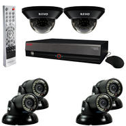 Revo 8 Ch. 1TB DVR Surveillance System with 6 700TVL 100 ft. Night Vision Cameras at Kmart.com