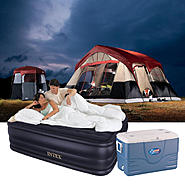 Camping Essentials Bundle with Tent, Air Bed & Cooler at Kmart.com