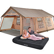 Camping Essentials Bundle with Tent & Air Bed at Kmart.com
