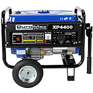 DuroMax 4400 Watt Quiet Portable Recoil Start RV Gas Powered Camping Generator CARB APPROVED at Sears.com