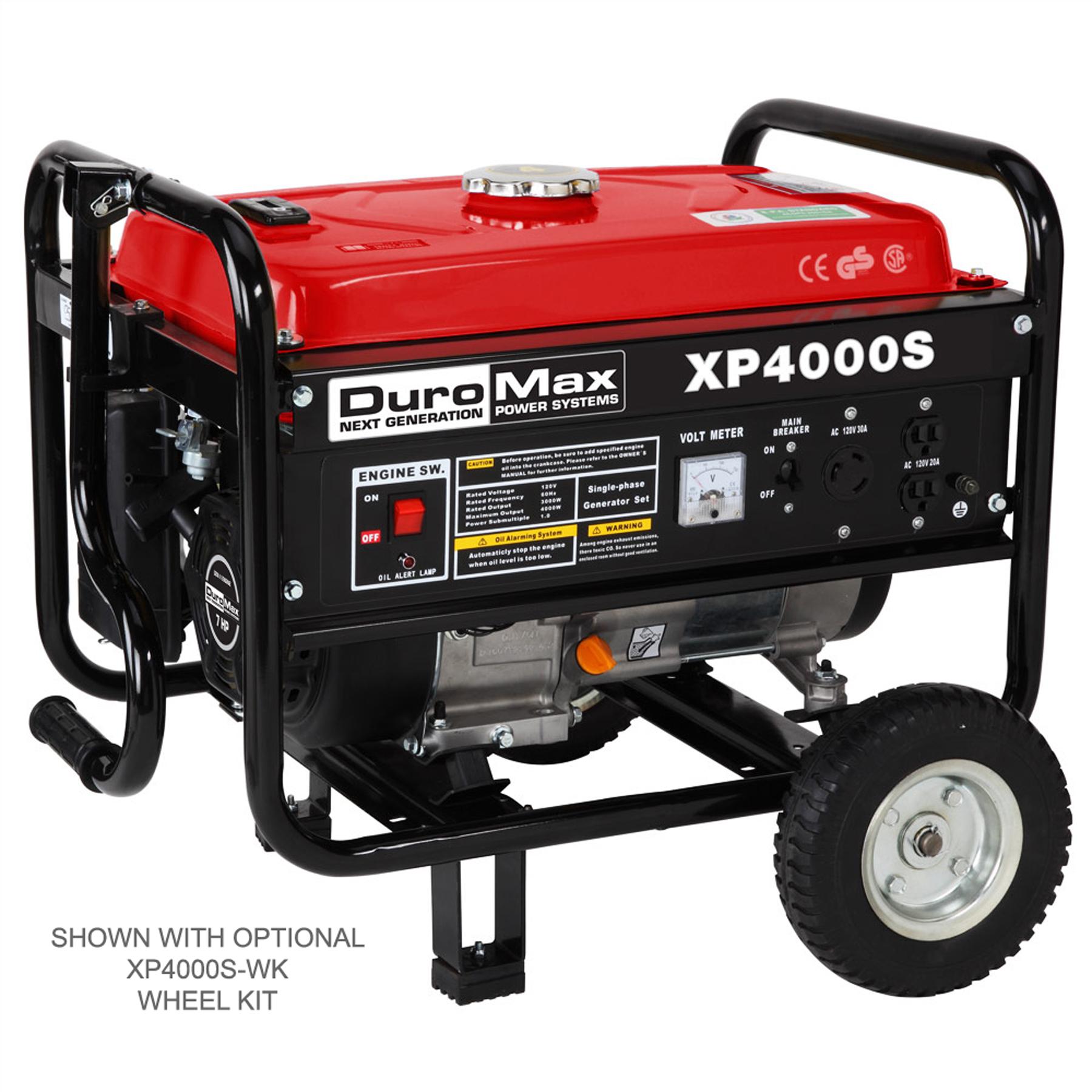 DuroMax 4000 Watt Gas Powered RV Camping Portable Generator RV Camping.Non California Compliance