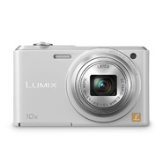 Panasonic Lumix 16.1MP Slim Digital Camera with 10x Optical Zoom-White at Sears.com