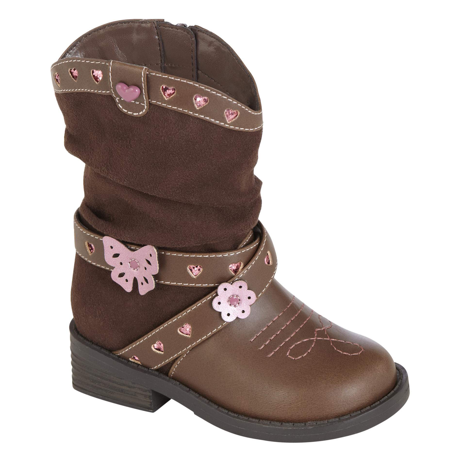 Toddler Girl's Fashion Boot Renata - Brown