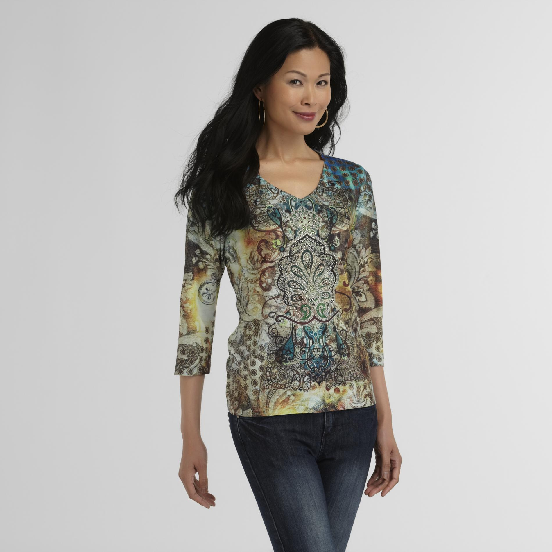 Laura Scott Women's Printed T-Shirt at Sears.com
