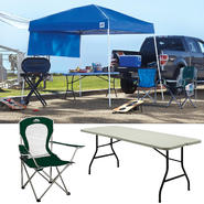 E-Z Up Sierra 10 x 10 Canopy with Chair & Folding Table Bundle at Kmart.com