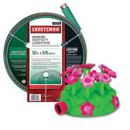Melissa & Doug Blossom Bright Sprinkler & Craftsman Hose Bundle (Girls) at Sears.com