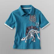 Toughskins Boy's Polo Shirt - Dinosaur Bones at Sears.com