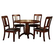 Venetian Worldwide Englewood 5pc Dining Set at Kmart.com