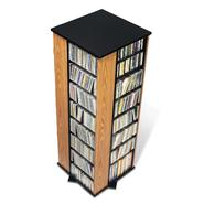 Prepac Oak & Black 4-Sided Spinning Tower at Kmart.com