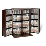 Prepac Espresso Locking Media Storage Cabinet with Shaker Doors at Sears.com