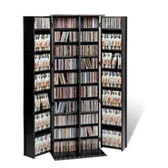 Prepac Black Grande Locking Media Storage Cabinet with Shaker Doors at Kmart.com