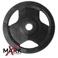 XMark 35 lb. Commercial Rubber Coated Tri-grip Olympic Plate Weight (single) XM-3377-35 at Kmart.com