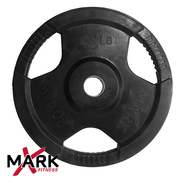 XMark 45 lb. Commercial Rubber Coated Tri-grip Olympic Plate Weight (single) XM-3377-45 at Kmart.com