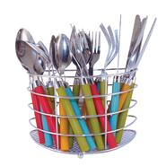 Ragalta 24 Piece Stainless Steel Flatware Set with Display Caddy at Kmart.com