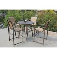 Bellini Home and Gardens Nani 5 Pc High Dining Set at Kmart.com