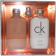 Calvin Klein C.K. One by Calvin Klein for Unisex - 2 Pc Gift Set 6.7oz EDT Spray, 8.5oz Skin Moisturizer at Kmart.com