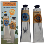 L'Occitane Hand & Foot Kit - Dry Skin by L'Occitane for Unisex - 2 Pc Gift Set 2.6oz Hand Cream, 2.6oz Foot Cream at Kmart.com