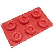 Freshware 6-Cavity Savarin and Donut Silicone Mold and Baking Pan at Sears.com