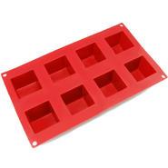 Freshware 8-Cavity Square Cube Brownie, Corn