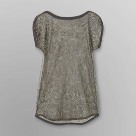 Bongo Junior's Metallic Mesh Cover-Up at Kmart.com