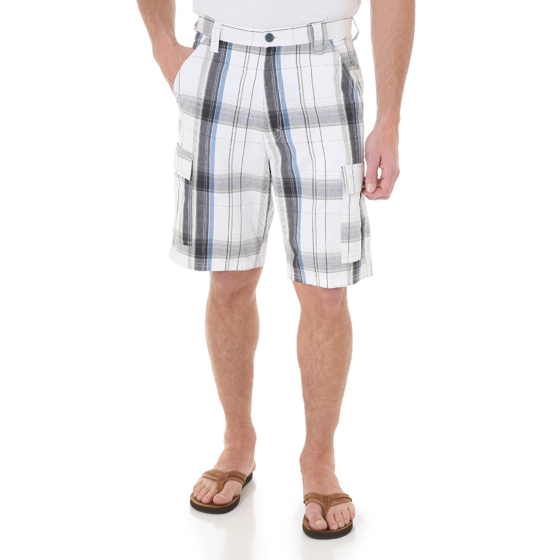 Wrangler  Men's Big & Tall Shorts - Plaid