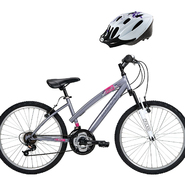Huffy Youth Bike with Protective Gear Bundle         ...