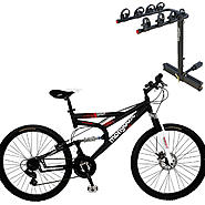 Mongoose Sagaa Mountain Bike with Car Carrier Bundle at Sears.com