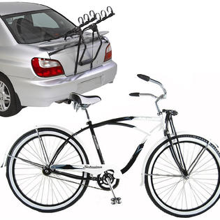 -Schwinn Drifter Cruiser Bike with Car Carrier Bundle