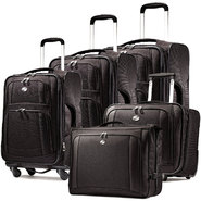 American Tourister iLite Supreme Spinner Luggage Set (Black) at Sears.com