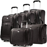 American Tourister iLite Supreme Upright Luggage Set (Black) at Sears.com