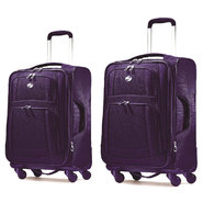 American Tourister iLite Supreme Spinner Luggage Set (Purple) at Sears.com