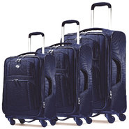 American Tourister iLite Supreme Spinner Luggage Set (Sapphire Blue) at Sears.com