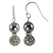 Sterling Silver Shell Pearl Earrings at Sears.com