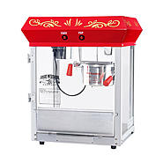 Great Northern Popcorn All Star GNP-450 4oz Red Popcorn Machine at Kmart.com