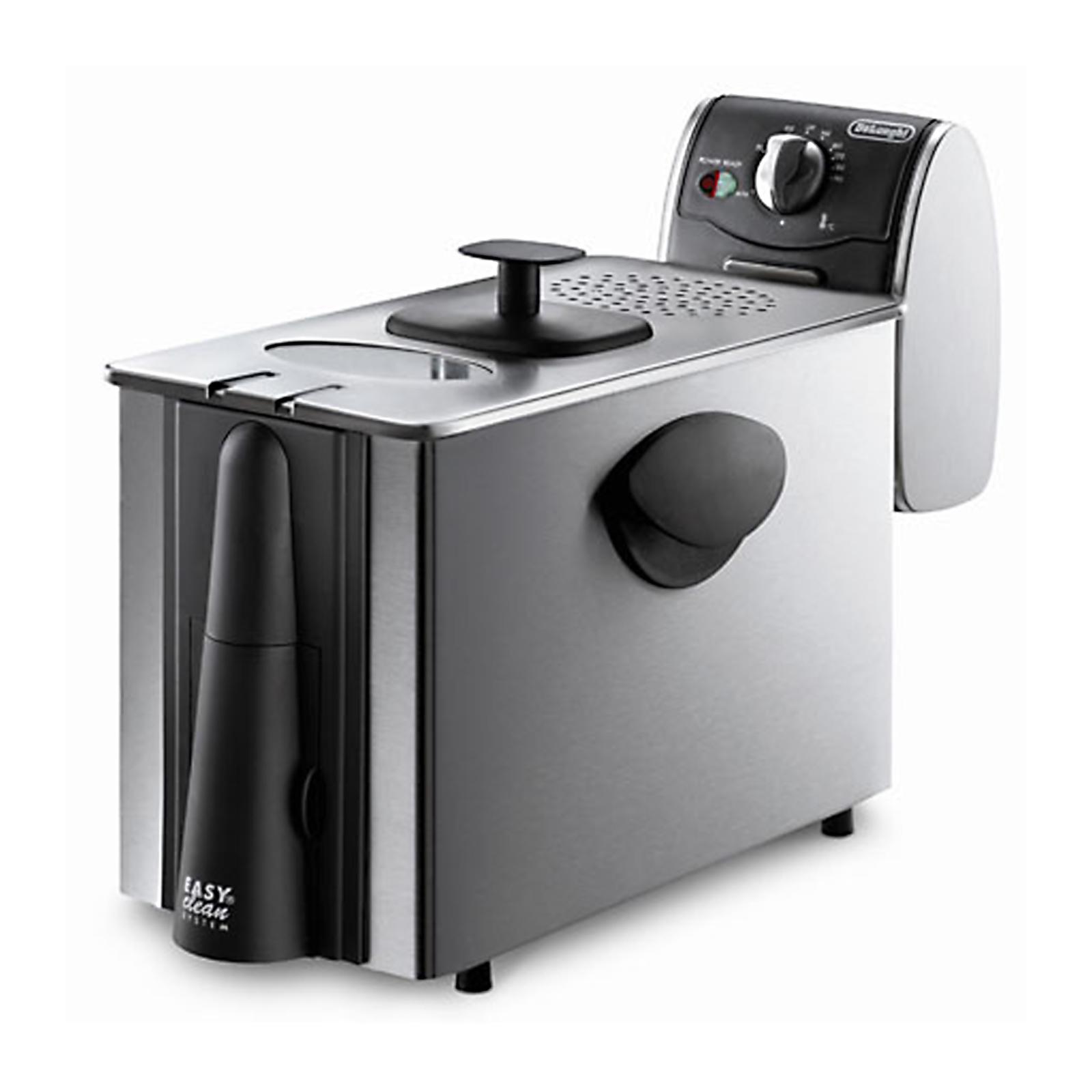3 lbs Dual Zone Deep Fryer - Stainless Steel