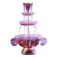 Nostalgia Electrics LPF-210 Vintage Collection Lighted Party Fountain Beverage Set at Sears.com