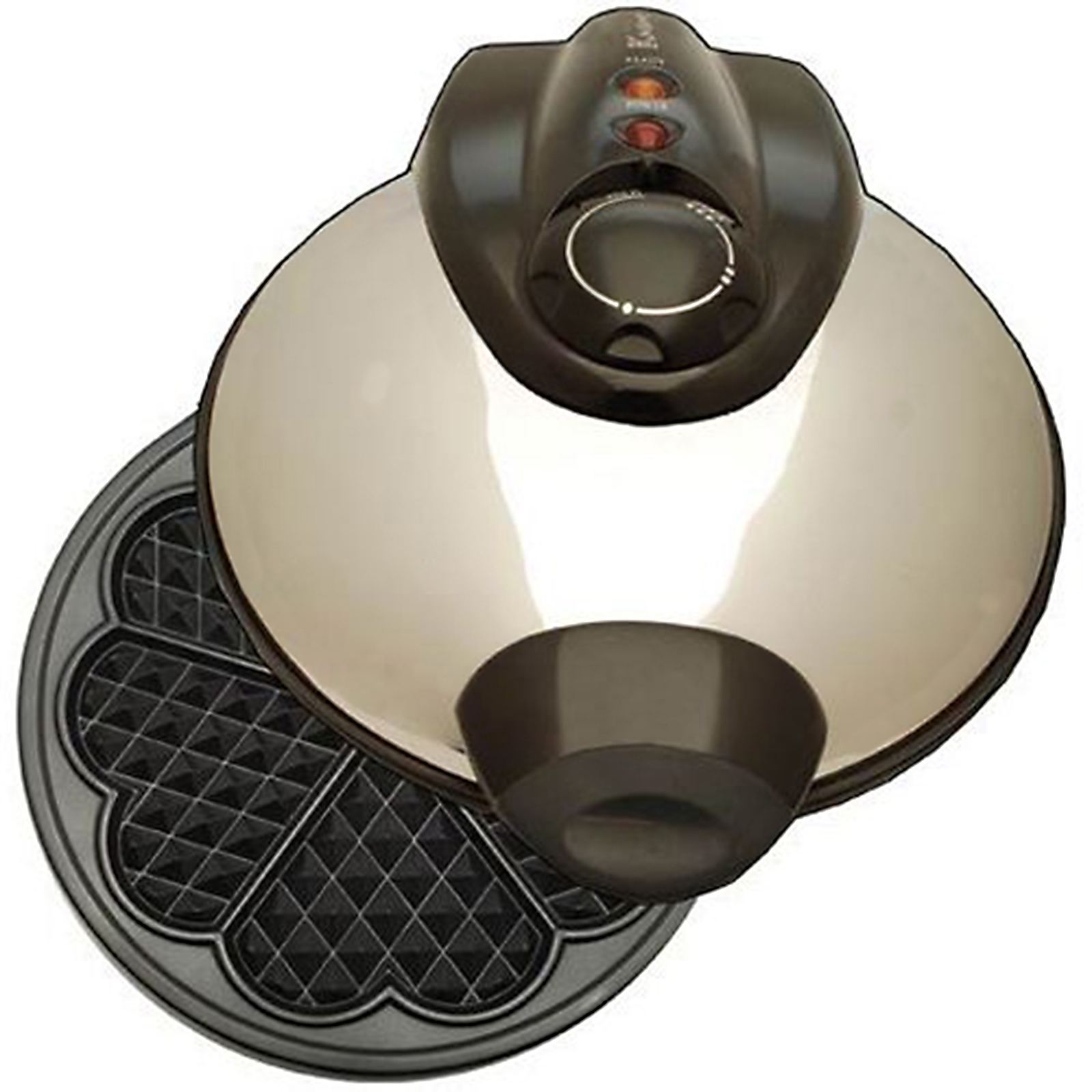 Euro-Cuisine 8 Heart Design Waffle Maker - WM420