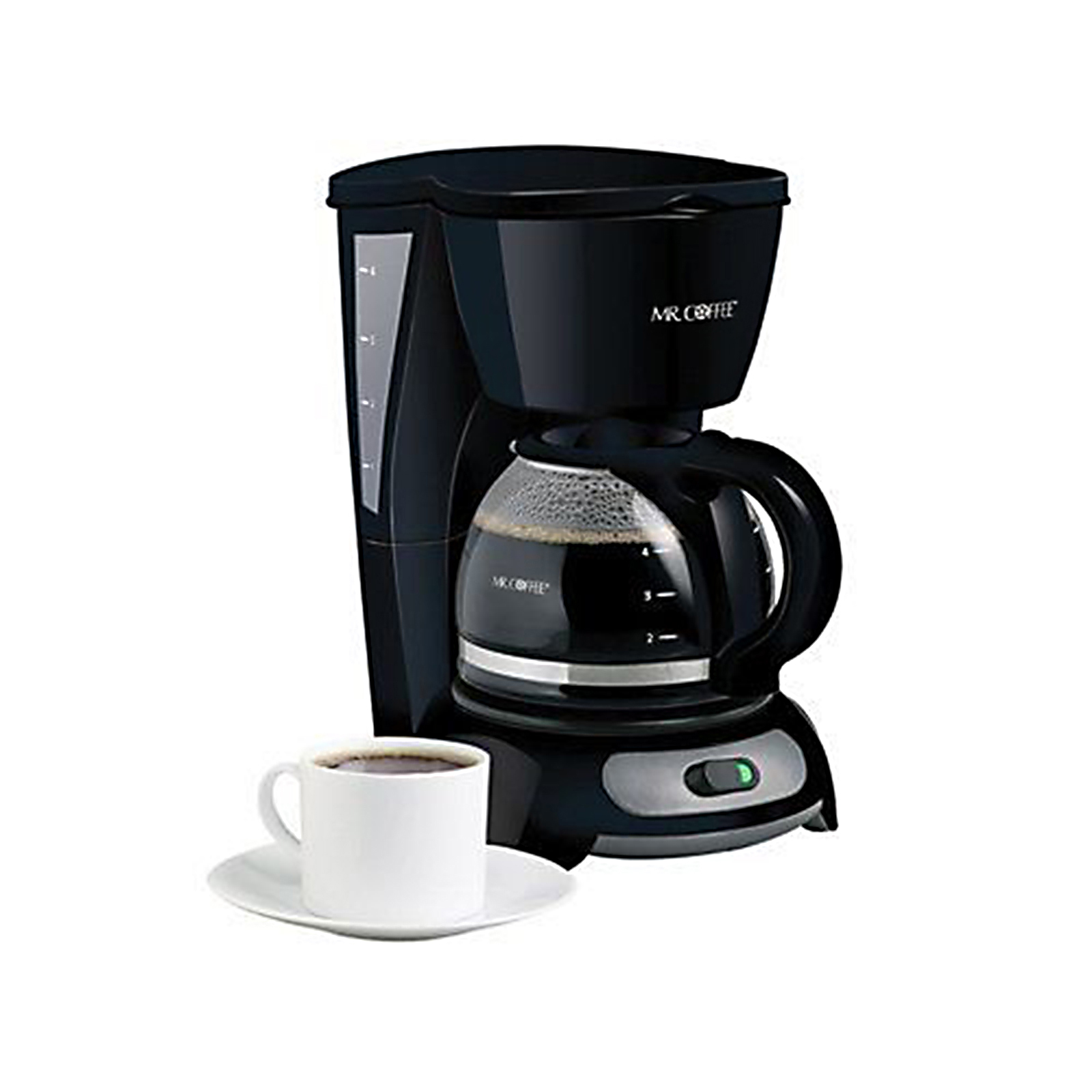 4-Cup Coffee Maker - Black