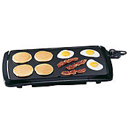 "Presto 10-1/2"" x 20-1/2"" Cool Touch Griddle at Sears.com"